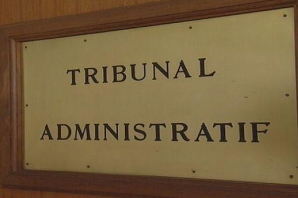 Capture Tribunal administratif plaque