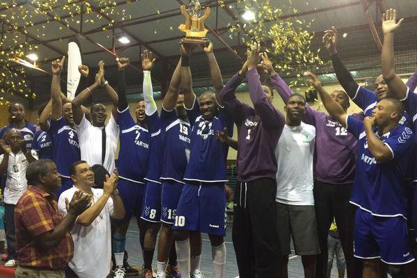 La sélection de la Martinique grande gagnante de Hand'îles