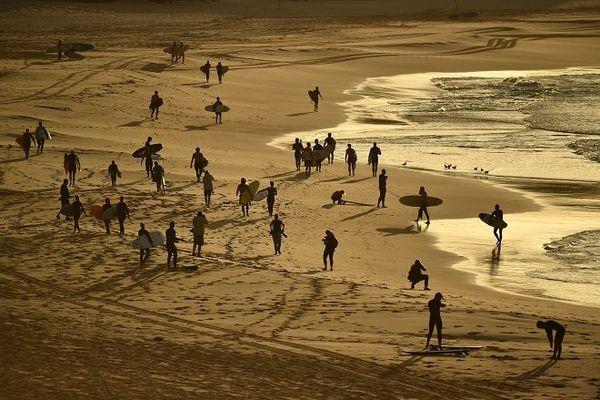 Réouverture de plage en Australie