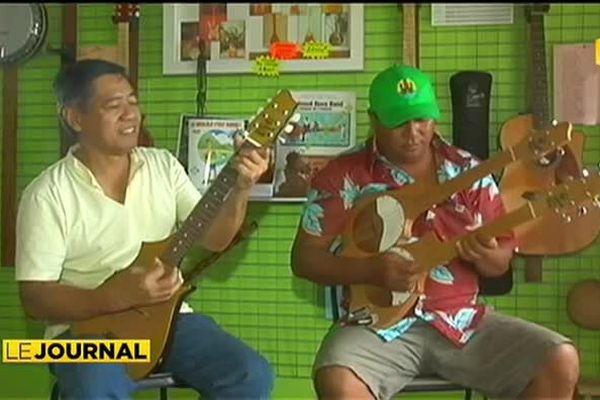 Le ukulele a aussi ses fans sur le Caillou