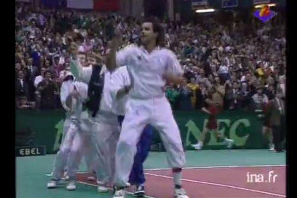 Victoire de la France en 1991 à la Coupe Davis