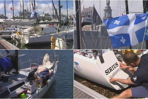 Le sirius et son équipage bientôt sur le départ de la transat Québec Saint-Malo