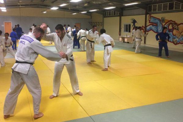Entraînement de judo