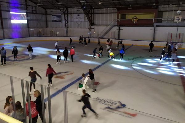 réouverture patinoire
