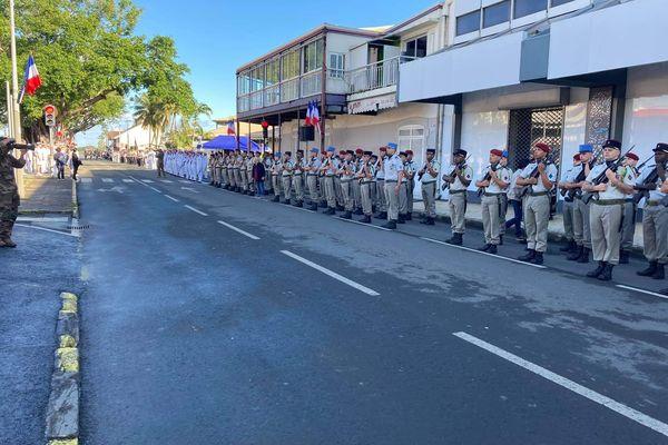 Le défilé du 14 juillet ce matin à 9h