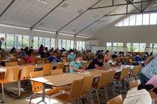 5000 élèves de Tahiti et des îles ont participé à la première journée de finale.