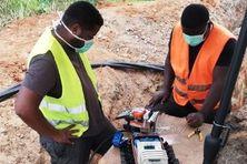 Réparation de câbles de fibre optique entre Saint-Laurent et Mana