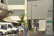 Extérieur de l'hôpital Pierre Zobda Quitman (CHU de Martinique).