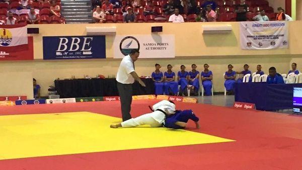 Samoa 2019, Maiwen Mézières, judo