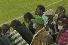 Le public au stade du François (16 janvier 2021).