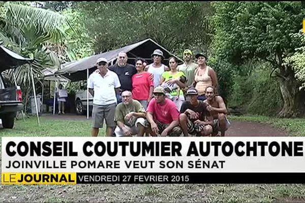 Joinville Pomare plaide pour la création d'un sénat coutumier