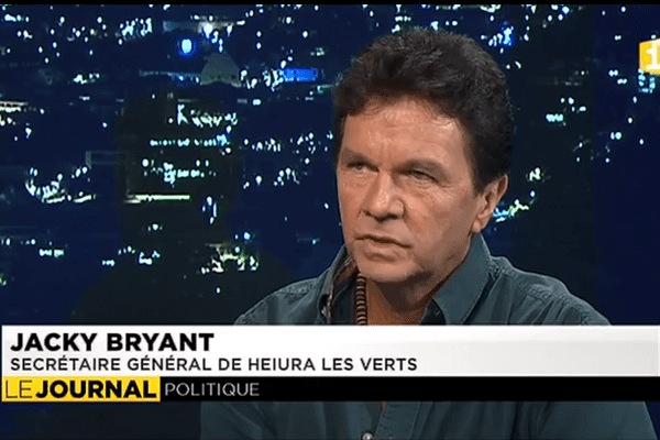 Jacky Bryant : Candidat à Bora Bora