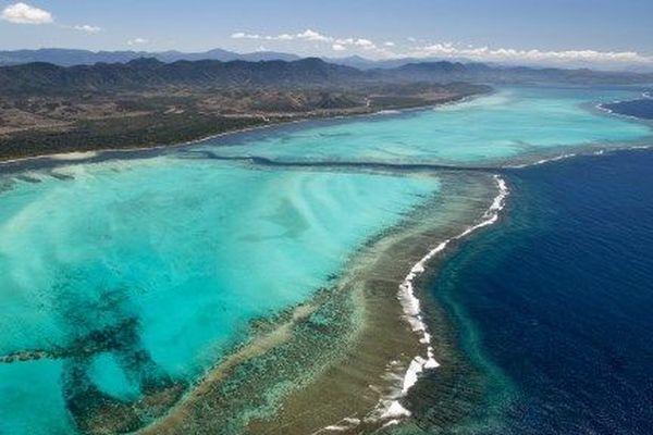 le lagon de Nouvelle-Calédonie