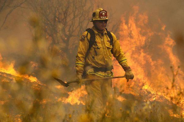 pompier americain