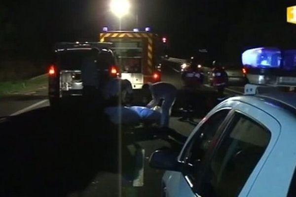 Accident mortel à Saint-Pierre