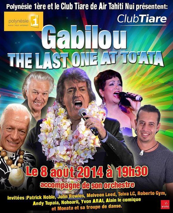 concert Gabilou affiche
