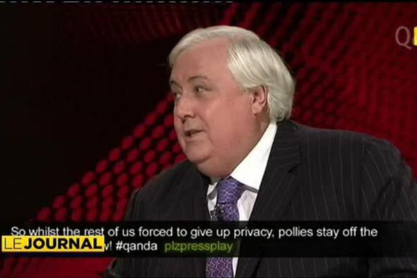 Clive Palmer : un nabab sur la pente raide