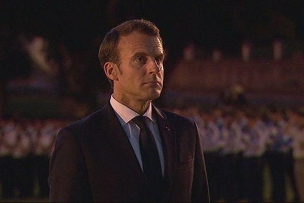 Macron à Bir Hakeim
