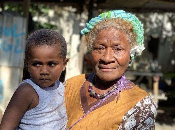 Marie Kede, habitante du squat de Ko we Kara, mai 2020