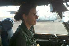 Le commandant Christelle Gazave est pilote de Transall