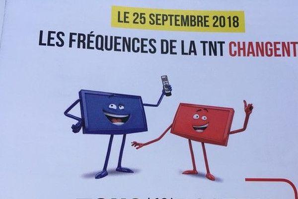 TNT fréquences