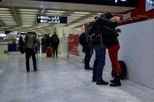 Aéroport d'Orly, février 2021.