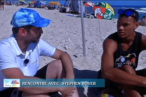 Jeux des Îles - Rencontre avec... Stephen Boyer