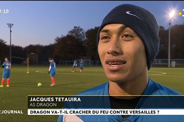 FR : L'AS Dragon à Clairefontaine