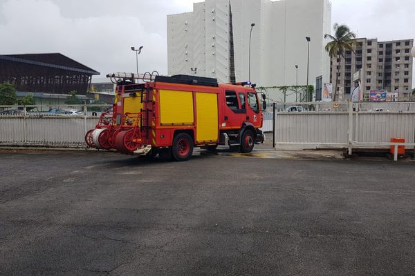 Véhicule des pompiers