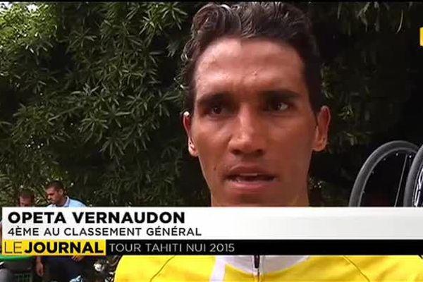 Tour de Tahiti Nui : Opeta Vernaudon perd le maillot jaune