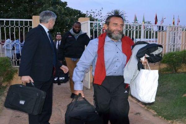 Ex otages aéroport Niger Thierry Dol