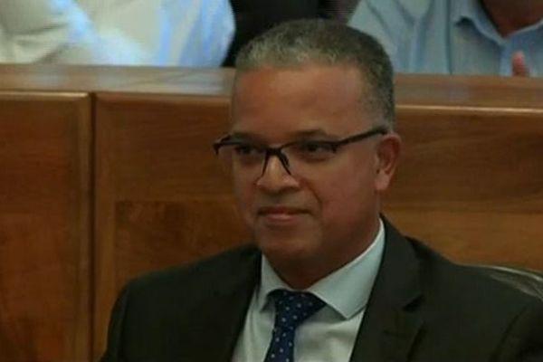 cyrille melchior, Président du Conseil Départemental de La Réunion