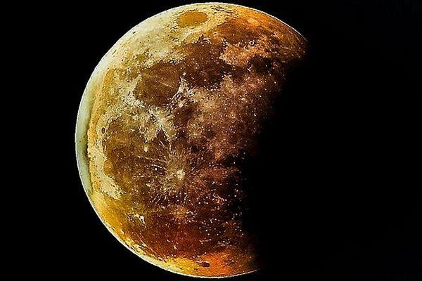 Eclipse partielle de Lune nuit du 16 au 17 juillet 2019