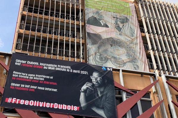 banderole mairie de Fort-de-France Olivier Dubois