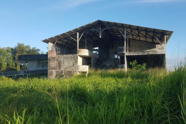 Le site du futur centre de réinsertion de Kourou