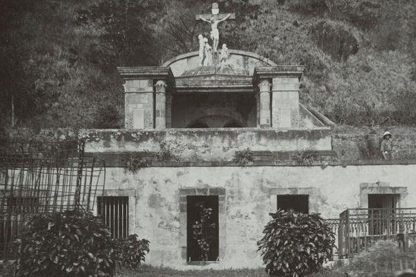Saint-Pierre dévastée en 1902