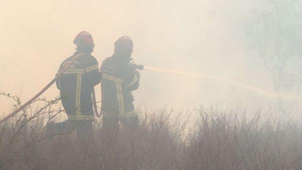 Pompiers en action à Ouitchambo