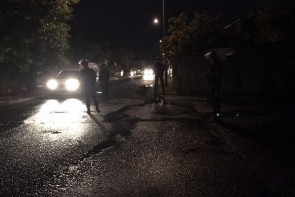 Gendarmes de nuit à Sainte-Marie