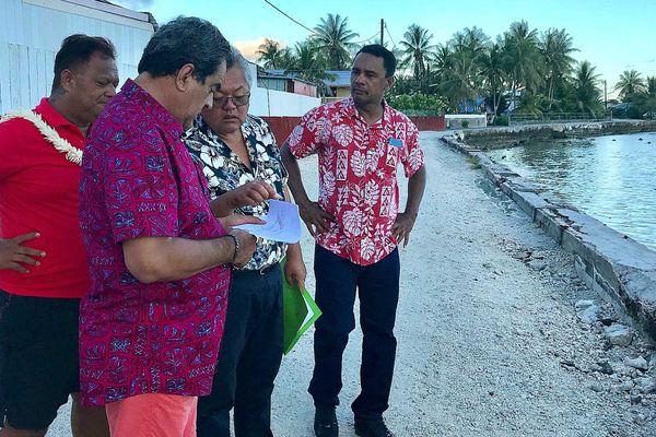 visite Fritch aux Tuamotu