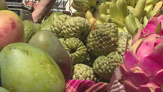fortes consommations de fruits en Martinique © MARTINIQUE 1ERE