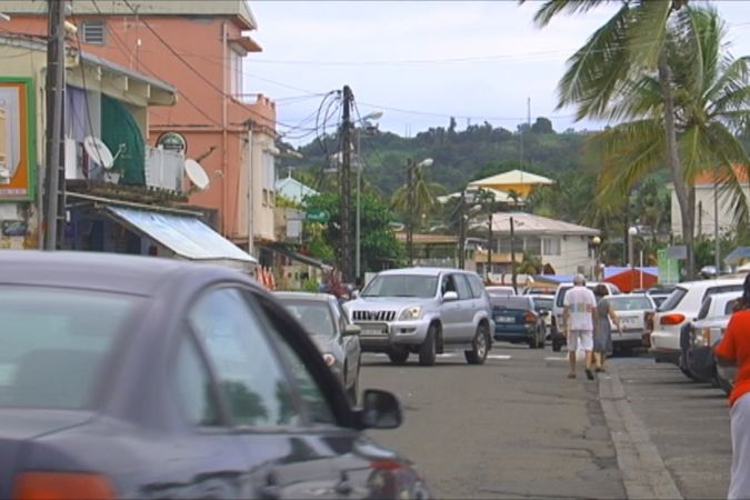 Le bourg de la commune du Robert (Martinique) © Martinique 1ère
