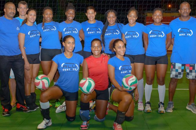 La sélection féminine de Martinique engagée dans la phase qualificative pour la coupe du monde © Cap/FB/Ligue de Volley ball Photo: Franck Adenet –