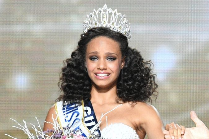Alicia aylies devient miss france 2017 qui est cette martinico guyanaise martinique 1 re - Miss guyane alicia aylies ...
