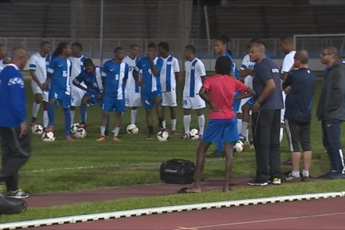 La Martinique disputera la phase finale de la coupe de Nations de la Caraïbe au mois de juin au Stade de Dillon © Martinique 1ère