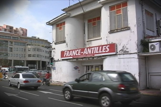 Le siège du journal France-Antilles à Fort-de-France © Martinique 1ère
