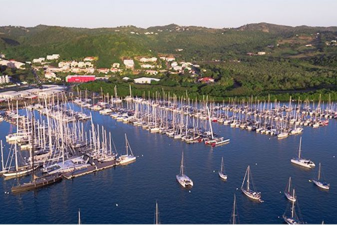 Le port du marin pr pare la transquadra 2018 martinique - Plus grand port de plaisance d europe ...