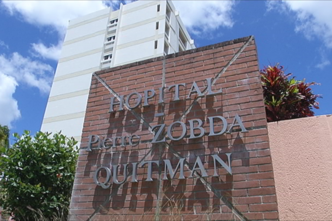 L'hôpital Pierre Zobda-Quitman à Fort-de-France © Martinique 1ère