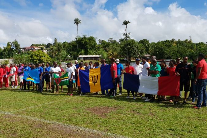 Les participants aux Goodwill Games 2018 en Martinique. © Patrick-Jean Guitteaud