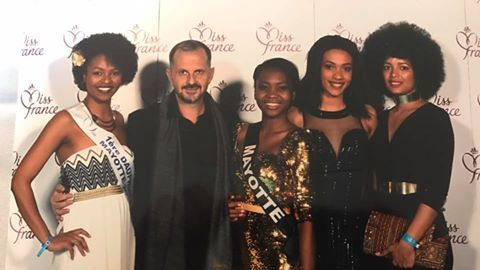 Melissa Kesleir, Frank Servel, Naïma Madi Mahadali, Ludy Langlade, Jane Jaquin © Photo Miss Mayotte officiel