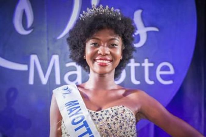 Naïma MADI MAHADALI, Miss Mayotte 2016 © Miss Mayotte